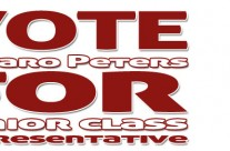 Vote Peters For Class Junior Class Representative